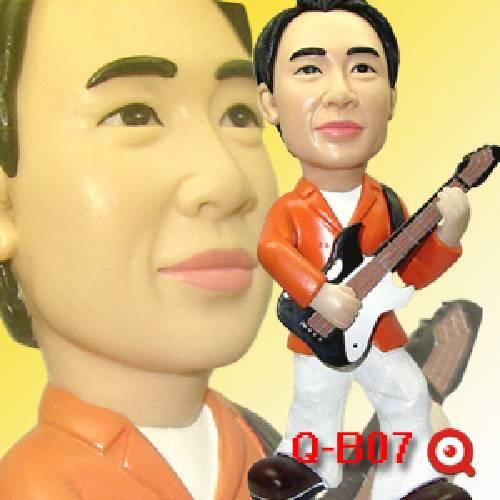 帥氣男生.吉他.歌手 公仔娃娃